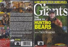 Head to Head with Giants The Guide to Hunting Bears 2 1/2 Hours DVD NEW