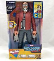 Marvel Star Lord Action Figure Guardians of the Galaxy Vol 2 Avengers Music Mix
