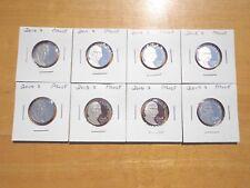 2010 2011 2012 S 13 14 2015 2016 2017 2018 S Jefferson Nickel Proof 9 Coin Set