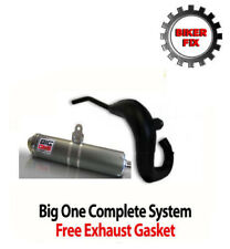 FITS YAMAHA DT125R DTR125 DT 125R BIG ONE EXHAUST PIPE SYSTEM + FREE GASKET