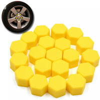 20xBlack Auto Car Wheel Nut Lug Dust Cover Cap Protector Tyre Bolt Hub Screw Cap