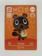 Animal Crossing Genuine Official Amiibo Card Timmy 212 [Mint Unscanned]