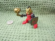 Imaginext Fisher Price Great Adventures Castle Red Knight Battle Ball Chain gold