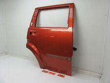 07-11 NITRO REAR DOOR PANEL SHELL BODY RED RIGHT PASSENGER SIDE OUTER BACK RR R