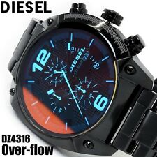 DIESEL MEN'S LASER BLUE CHRONOGRAPH OVERFLOW WATCH DZ4316