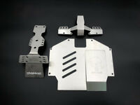 Front & Rear Chassis Armor Skid Plate for UDR Unlimited Desert Racer 1/7 Traxxas