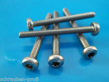 300 pièces acier inox V2A vis Torx Set Boîte vélo DIN 7985 vélo