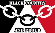 Black Country Flag Sticker Decal be proud! car - caravan - window - bumper