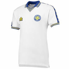 Score Draw Retro Mens Football Soccer Leeds United 1978 Admiral Shirt Jersey Top