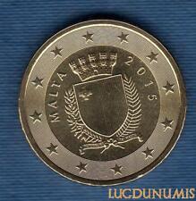 Malte 2015 50 Centimes d'euro FDC BU Provenant Coffret 30000 Exemplaires Malta