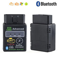 ELM327 V2.1 OBD2 Bluetooth Car Scanner Android Auto Torque Diagnostic Scan Tools