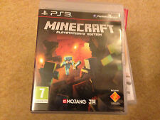 MINECRAFT PLAYSTATION EDITION FOR THE SONY PS3