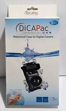DICAPAC WP-310 Soft Waterproof Marine Camera Case For Digital Campers - NOB