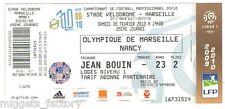 Billet  / Place  OM Olympique de Marseille - OM vs Nancy  ( 090 )