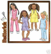 Reduced!  BUTTERICK 4216 Girls' VEST, JUMPER, SKIRT & PANTS Pattern Sz 6-8