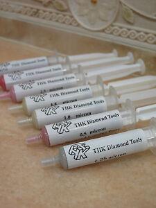 7 Diamantpaste 5g Polierpaste Glas Metall Diamanten Schmuck Polieren Hochglanz