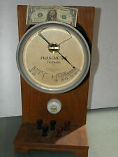 LARGE INDUSTRIAL MANOMETER MANOMETRE INSTRUMENT VINTAGE