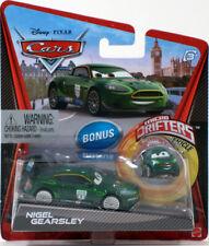 Disney Pixar Cars NIGEL GEARSLEY with Bonus Micro Drifter Diecast 1:55 Mattel