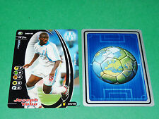 FOOTBALL CARD WIZARDS 2001-2002 JOSEPH YOBO OLYMPIQUE MARSEILLE OM PANINI