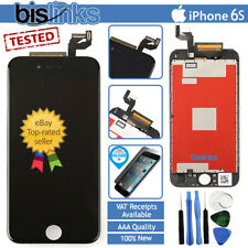 "Per iPhone 6 S 4.7"" Nero Display LCD Touch Screen Digitalizzatore Ricambio Assemblaggio"