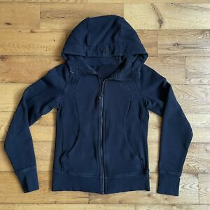 Lululemon Black Zip Up Hoodie Jacket - Women's Size 6