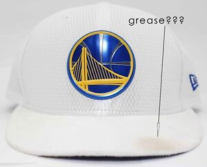 Genuine New Era 59Fifty NBA Basketball Golden State Warriors Fitted Hat Size 7