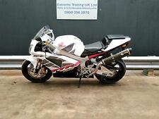 Honda VTR1000  SP-2 2003 with Two Brothers silencers plus originals.