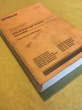 CAT CATERPILLAR D7H CRAWLER TRACTOR DOZER PARTS BOOK MANUAL S/N 79Z 80Z