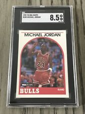 1989-1990 Hoops #200 Michael Jordan SGC 8.5 MINT 💎 GOAT Iconic 🔥 Looks Better