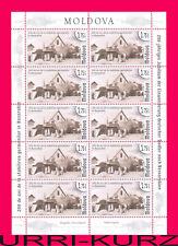MOLDOVA 2014 Bicentenary of Germans Settlement in Bessarabia ms Sc824 Mi Klb.869