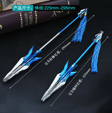 1/6 TOY MOBA King of Glory METAL Spear chinese sword Heart of engine 23-29cm 赵云