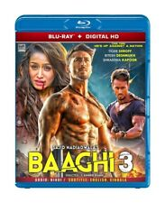 Baaghi 3 Hindi / Bollywood Movie ~ Blu Ray Disk ~ English Subtitle ~ All Region