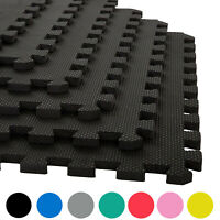 Gym Flooring Interlocking Floor Mats EVA Soft Foam Mat Yoga Tiles Garage Matting