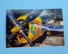 New Airplane Postcard ~ Republic P-47D-40 painted as P-47D-30