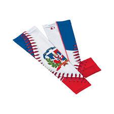 Dominican Republic Baseball lace Arm Sleeve L- single