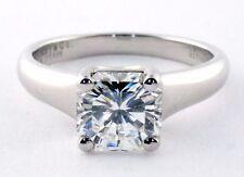 Tiffany & Co Platinum 1.06ct H VVS1 Lucida Diamond Solitaire Engagement Ring