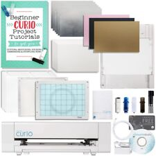 Silhouette Curio Digital Crafting Machine Deep Cut & Etch Bundle