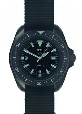 Rare MWC PVD Military Divers Watch 1000ft Water Resistant Rare 1999-2001 Pattern