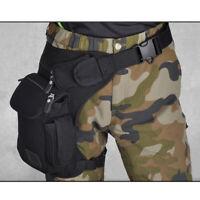Rider Motorcycle Leg Bag Hip Drop Men Canvas Tactical Military Waist Fanny Pack
