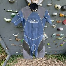 Quiksilver Mens Shorty Wetsuit ST Comp 2/2 Size Medium Blue