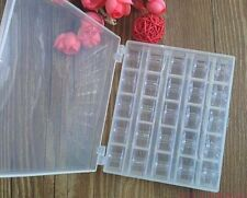 New Sewing Machine Thread Empty Bobbins With Box for Janome Storage Case Spools