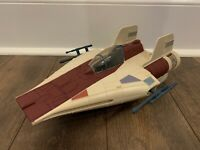 STAR WARS A WING FIGHTER ELECTRONICS WORK COMPLETE KENNER VINTAGE 1984 POTF