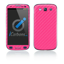 Samsung Galaxy S3 - Pink Carbon Fibre skin by iCarbons
