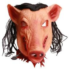 Pigsy Pig Head Animal Masks Silicone Costume Prop Toys Cosplay Halloween Party