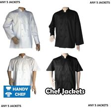 Chef Jackets 5 Value Pack - See Handy Chef for Chef Pants, Chef Caps, Chef Apron