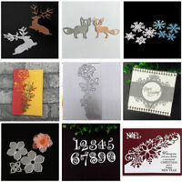 Metal Cutting Dies Stencil for Scrapbooking Card Paper Embossing Decor DIY Craft