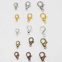 Wholesale Alloy Lobster clasp Hook Law DIY Necklace Bracelet Necklace Making