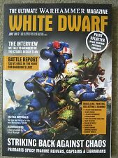 White Dwarf July 2017 Warhammer Citadel Design Team 40,000 Art of Waaagh Orruks