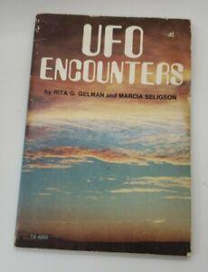 vintage 1978 UFO ENCOUNTERS book