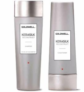 Goldwell Kerasilk Reconstruct Shampoo & Conditioner Keratin 8.4/6.7oz NEW SEALED